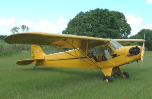 The Piper Cub was the primary flight training aircraft during the early days of World War II.