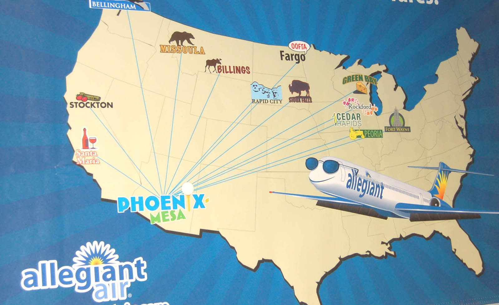Phoenix-Mesa Gateway Airport Lands Scheduled Air Service