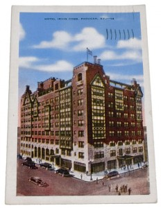 A 1939 postcard shows Paducah's Irvin Cobb Hotel during its heyday.