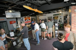 The visitor center offers many fun items for purchase, as well as a host of artifacts for perusal.