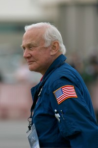 Apollo 11 astronaut Buzz Aldrin was one of the honored guests at Aviation Nation.