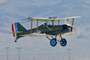 Joe Harr, 76, built and flies this SE-5A, a World War I 7/8 scale replica.