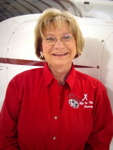 Valli Hanson, a partner in Up in the Air Pictures and founding producer of Vintage Years Airshows, is a member of the Ninety-Nines, The Fresno Sherriff's Squadron, AOPA and the Central Valley Aircraft Owners Association.