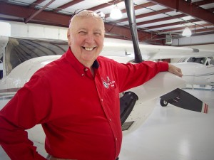 "Chuck Carson formed Phoenix Producers Group in 1991 to encompass his diverse passions for flying, film and entertainment. His broadcast background provides a foundation for his narration abilities heard on ""The Barnstormers"" documentary."