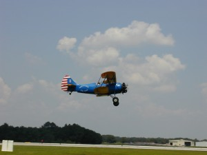 Restored to its original condition, this 1927 gives rides in places like the EAA Sun 'n Fun Fly-in held in Lakeland, Fla.