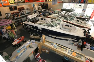 S&W Performance Marine offers a full pro shop in their showroom.