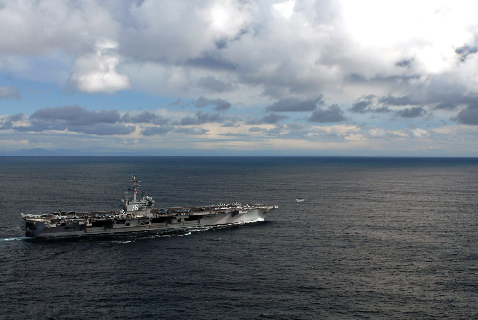 A Cruise to Nowhere on the World's Mightiest Warship: The USS Ronald Reagan
