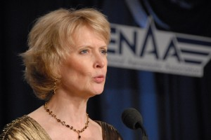Paula Hochstetler, president of the Aero Club of Washington, co-hosted the black-tie event with the NAA.
