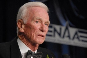 While Gene Cernan didn't characterize his experience on the moon as a religious awakening, it had a profound effect. He described space as a three-dimensional blackness.