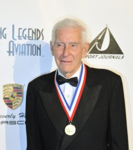 Tom Danaher on the red carpet at the 5th annual Living Legends of Aviation.