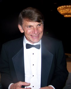 Charlie Johnson was emcee of the 5th annual Living Legends of Aviation award ceremony.
