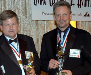 Alan (left) and Dale Klapmeier, 4th annual Living Legends of Aviation.
