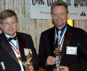 Alan (left) and Dale Klapmeier, 4th annual Living Legends of Aviation.