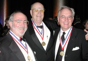 Bruce McCaw (left) with Dr. Forrest Bird (center) and Joe Clark, 5th annual Living Legends of Aviation.