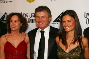 Sean Tucker with Colleen (left) and Tara Tucker, 5th annual Living Legends of Aviation.