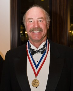 Kermit Weeks at the 5th annual Living Legends of Aviation award ceremony.