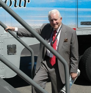 Carl Williams at the Porsche Business Aircraft & Jet Preview in Denver, Colo.