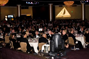 The Beverly Hilton was a beautiful venue for 440 guests and honorees during the 5th annual Living Legends of Aviation award ceremony.
