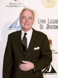 Joe Clark on the red carpet at the 5th annual Living Legends of Aviation award ceremony.