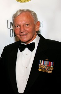 Gen. Jack Dailey at the 5th annual Living Legends of Aviation award ceremony.