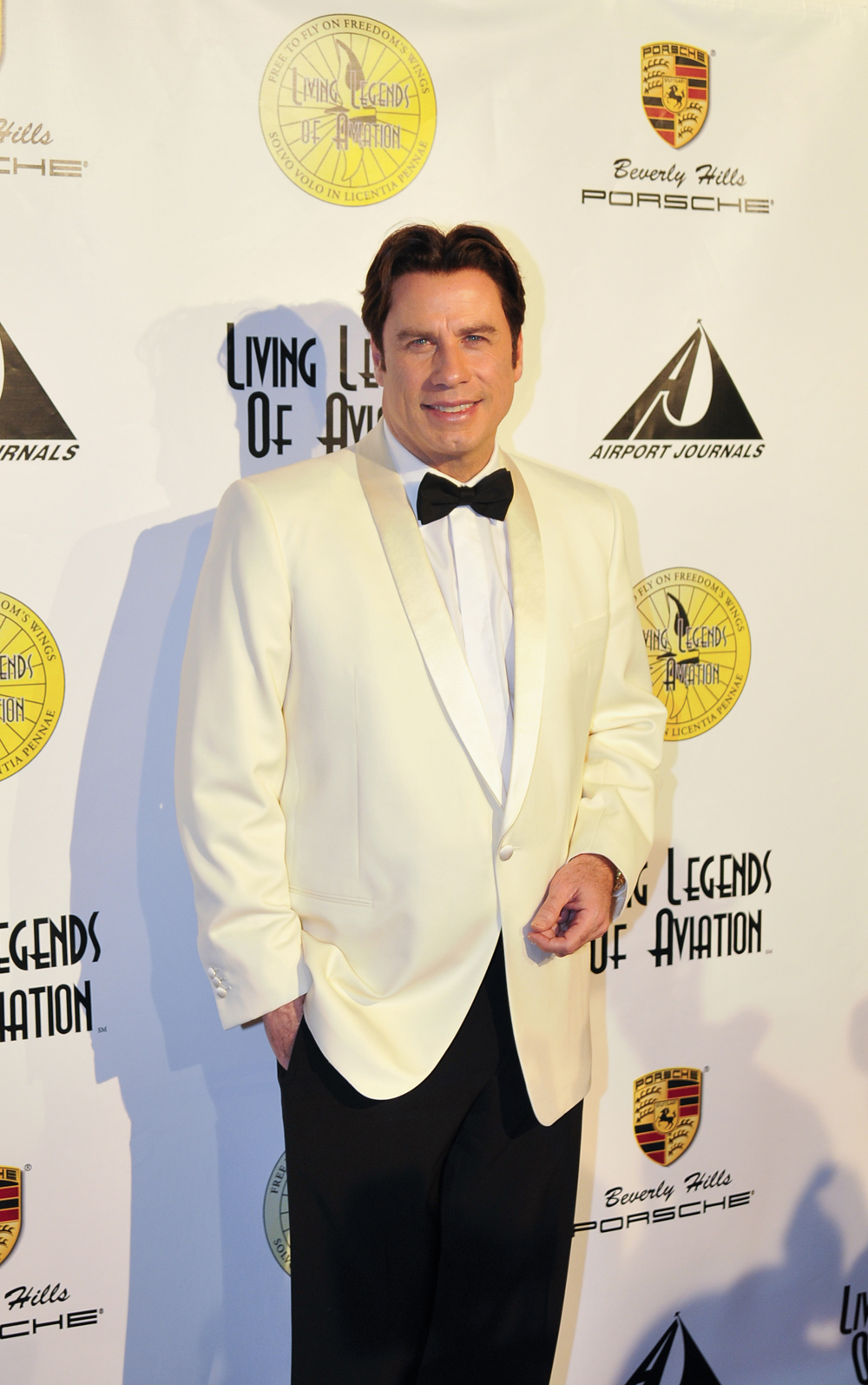 5th Annual Living Legends of Aviation Award Ceremony Honors John Travolta and Other Legends