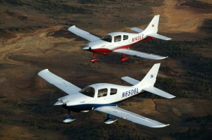 The latest offerings available from Cessna through Tom's Aircraft are the sleek Cessna 350 and 400 models formerly manufactured by the Columbia Aircraft Company.