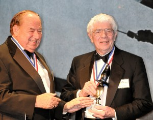 Airport Journals named James Raisbeck the 2007 Living Legends of Aviation Lifetime Aviation Entrepreneur due to his influence on the face of aviation. Clay Lacy, the 2004 award recipient, presented the award.
