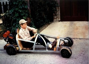 After designing, building and racing his car in the local Soap Box Derby in 1948, 11-year-old James Raisbeck built a quarter midget racer from scratch.