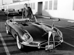In 1963, when Boeing was testing an internally blown trailing edge flap system on the Dash 80, James Raisbeck's 1962 Jaguar XKE ran up and down Boeing Field at 120 knots for economical testing of an alpha/beta airflow sensor's response characteristics.