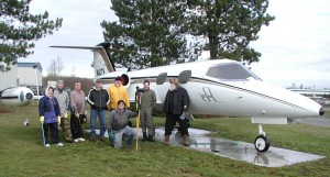 For three days throughout 2007, Honeywell Aerospace employees volunteered at The Museum of Flight's Restoration Center in Everett, Wash., washing various aircraft at the site.