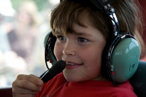 This Young Eagle's eyes express his excitement about flying in a small plane. EAA wants to harness that excitement and promote careers in aviation.