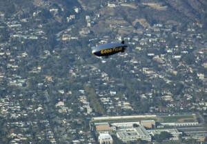 """Traffic ahead of you is a Goodyear Blimp,"" said our final SoCal approach controller."