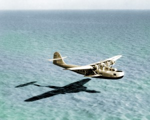 The sea wings or sponsons on the Martin M-130 provided improved stability on the water over outboard floats plus the added advantage of each carrying 950 gallons of fuel.