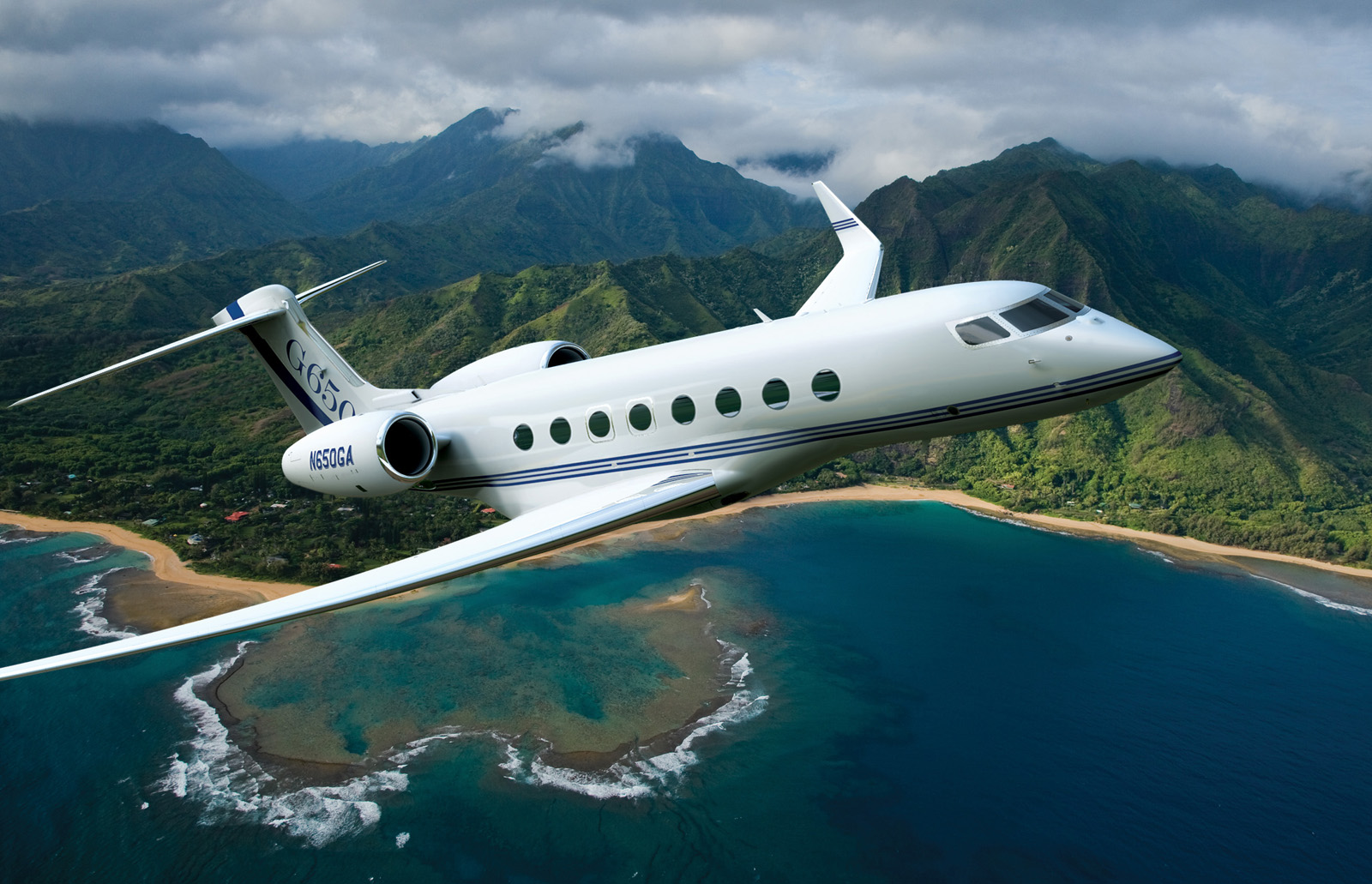 gulfstream aerospace is producing the g650 the companys new clean sheet business aircraft
