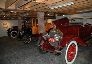 "In a custom-built garage dubbed ""The Barn,"" The Collings Foundation maintains a priceless collection of antique cars from different eras in American automotive history."