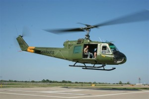 Capt. Steven Pless flew The Collings Foundation's UH-1E Huey in combat in Vietnam.