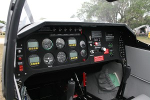 The cockpit of the Thorpedo Diesel is clean, with basic instruments. The company expects to have it ready for sale by EAA AirVenture Oshkosh 2008.