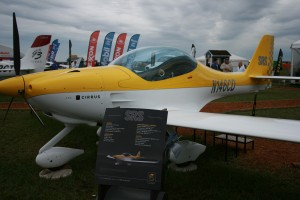 Cirrus Corp.'s SRS light-sport aircraft attracted great interest. Cirrus redesigned the SRS to take advantage of the U.S. light-sport rules.