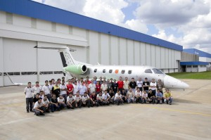 Brazil-based Embraer achieved first assembly of its Phenom 300 on April 12. The second assembly is also taking place at the company's Gavião Peixoto plant in São Paulo.