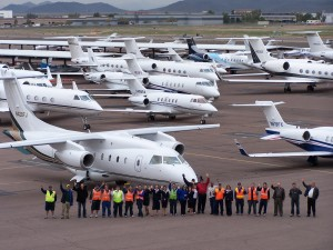 Atlantic Aviation employs more than 36 staff members to service its growing clientele, all committed to the company's high customer service standards.