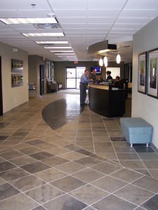 The FBO has poured more than half-million dollars into renovating its facility inside and out, including a new customer service desk, paint and tile.