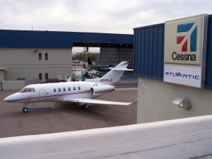 Atlantic Aviation's FBO at Deer Valley is one of the network's few full-service maintenance and operations facilities, with a Cessna Service Center that specializes in Caravan maintenance.