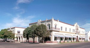 Marfa's El Paisano Hotel is on the National Register of Historic Landmarks.