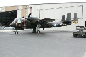 The Planes of Fame's OV-1 Mohawk is a veteran of the Vietnam War.