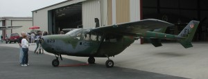 During the Vietnam War, forward air controllers used Cessna O-2 Skymasters for observation operations. The Skymasters replaced the L-19 Bird Dogs.
