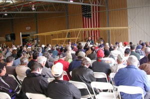 Moderator Frank Mormillo provided an informative overview of the air war over Vietnam, from 1954 to 1975.