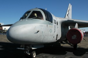 The carrier-based Lockheed S-3B Viking sub-hunter is due for retirement next year.