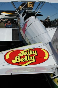 This Boeing Stearman is one of many Jelly Belly sponsored aircraft touring air shows.