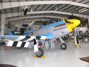 The star of the 2008 Gathering of Warbirds air show will be this P-51D Mustang, flown by veteran aerial performer Bud Granley.