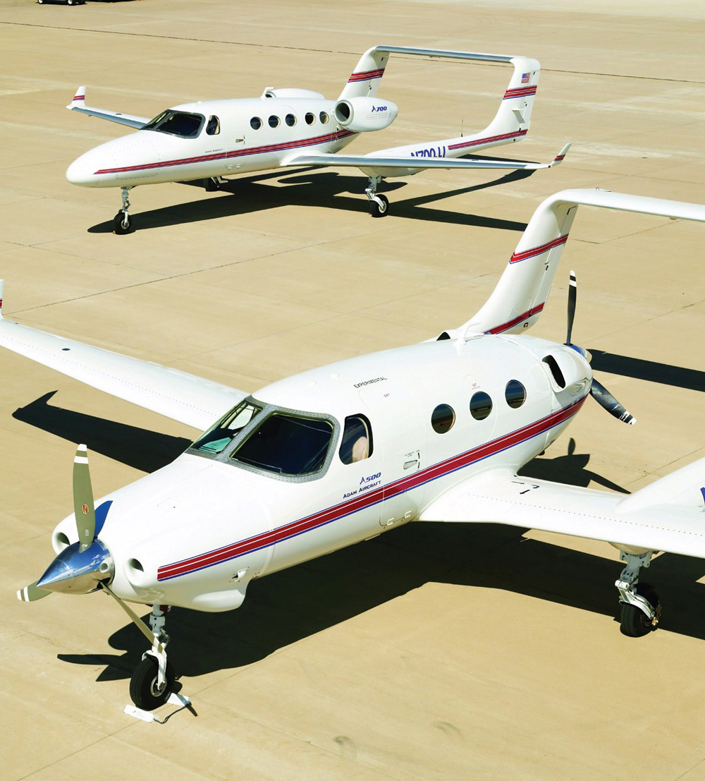 AAI Acquisition Buys Adam Aircraft and Plans to Certify A700